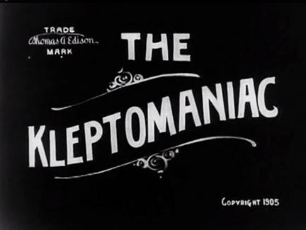 The Kleptomaniac Title Card