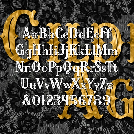 Gilded Age | Harold's Fonts